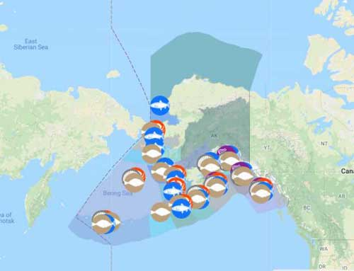 Interactive Map of Alaska Commercial Fisheries Launched