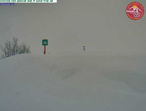 Hatcher Pass Road Closed Due to Avalanche