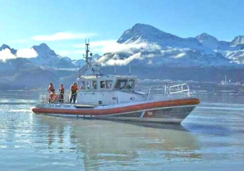 Coast Guard Station Juneau Boat Crew Rescues Stranded Hunter on Coghlan Island