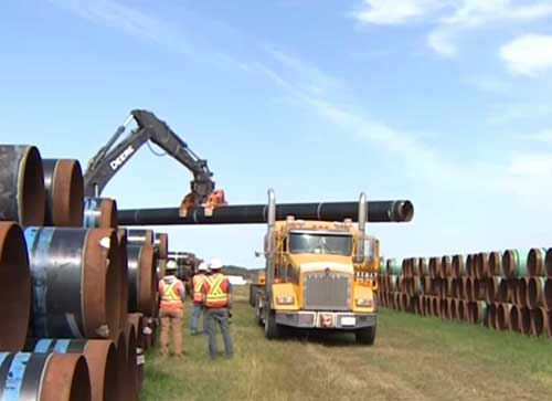 Kinder Morgan Pipeline Continues to be Stalled due to Disputes