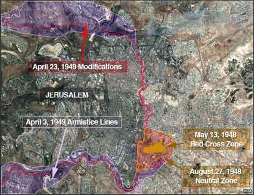 US Opening Jerusalem Embassy on Territorial Anomaly