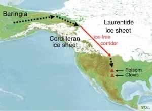 Beringia land bridge