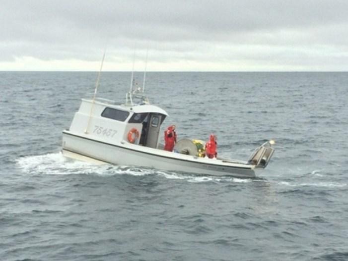 Coast Guard Assists Vessel Taking on Water near Valdez