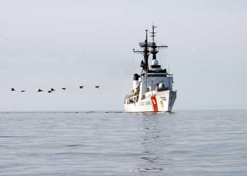 Coast Guard Concludes Operation Arctic Shield 2017