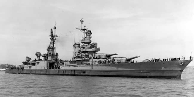 USS Indianapolis Found