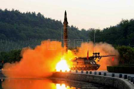 Report: North Korea Has Successful 'Ground-to-sea Cruise Rocket' Launch