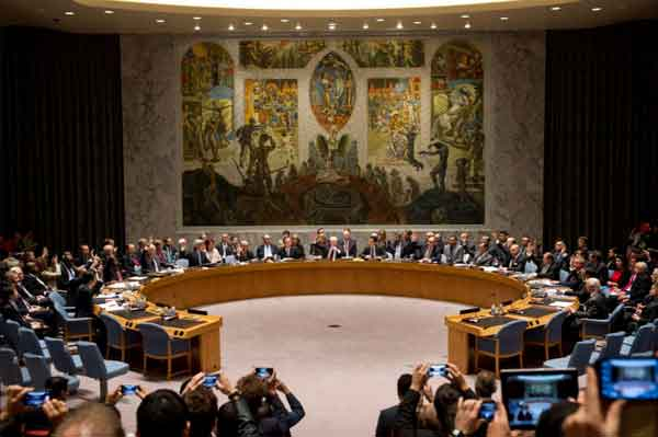 UN General Assembly to Vote 5 Countries to Security Council