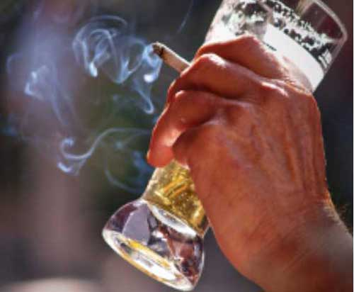 Consumption of Nicotine in Adolescence May Lead to Increased Alcohol Intake Later in Life