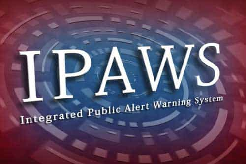 National IPAWS Test Postponed