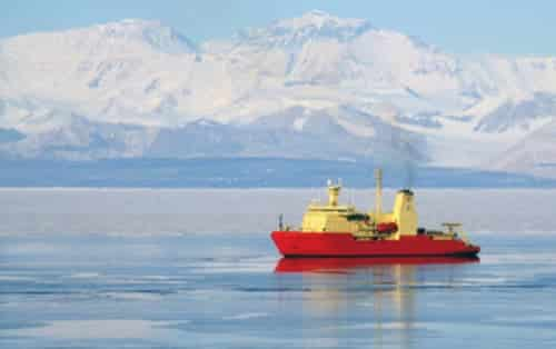 Antarctic Research Vessel to Deliver Ailing Individual to British Research Station
