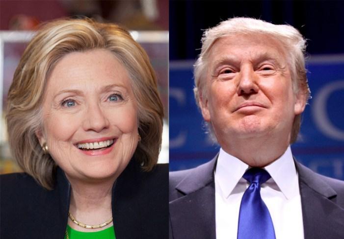 Trump, Clinton Lead Voter Presidential Polls