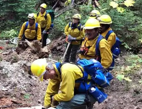 Type 2 Emergency Firefighters Crews to Mobilize to Help Fight Fires in Lower 48
