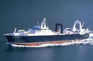 Factory trawler Alaska Ocean. Image-Ulstein Hatlø AS.
