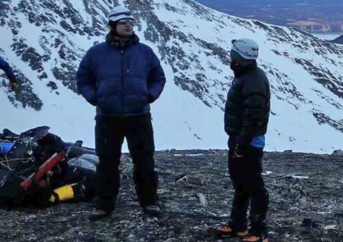 Lost Anchorage Man Rescued from Baldy Mountain