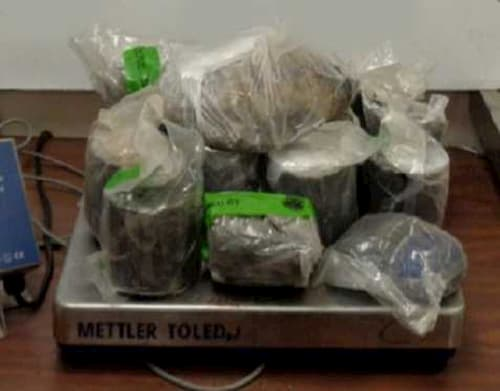 CBP at Hidalgo International Bridge Seizes Heroin Worth $781K