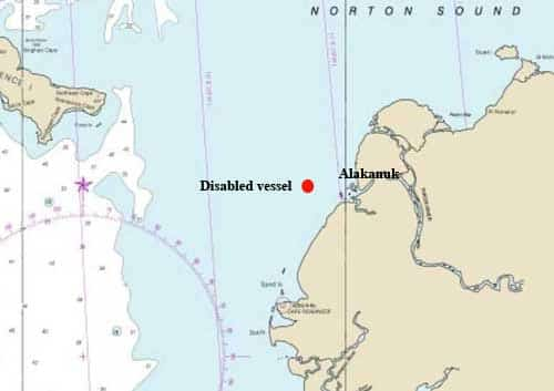 Two Adults, Four Children Rescued in Disabled Boat 13 Miles Offshore