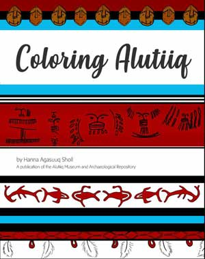 Museum Publishes Alutiiq-Themed Coloring Book by Hanna Sholl