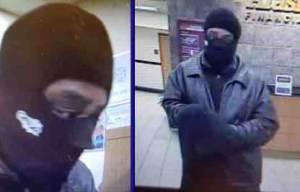 Credit Union robbery suspect. Image-FBI