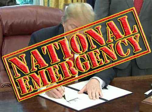 US Polls Show Majorities Oppose National Emergency Declaration