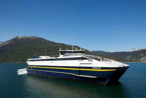 Alaska Marine Highway System Sells Fast Ferries Vessels headed to Spain