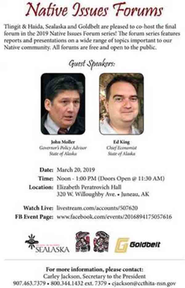 Final 2019 Native Issues Forum