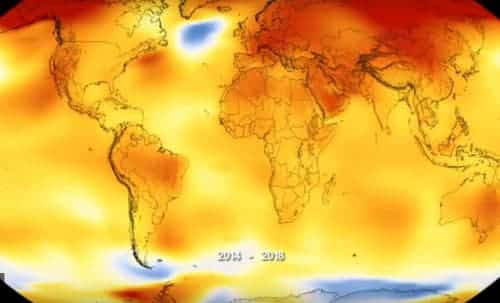 2018 Fourth Warmest Year in Continued Warming Trend, According to NASA, NOAA