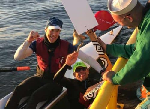 Accomplished Ocean Rowers win Seventy48