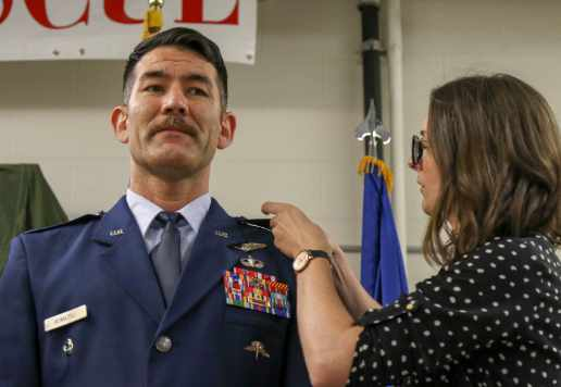 Air Guard Combat Rescue Officer Promoted to Colonel