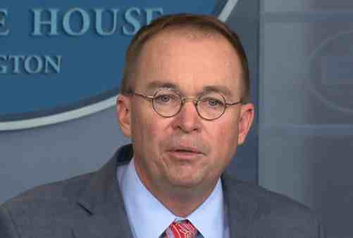 'They Should All Be Held in Contempt': Mulvaney Allies Team Up to Stonewall Trump Impeachment Probe
