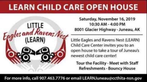 LEARN Child Care Center Open House / Saturday, November 16