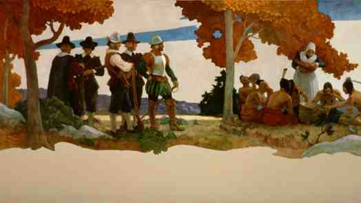 The First Thanksgiving: A Temporary Peace between Puritans and Tribes