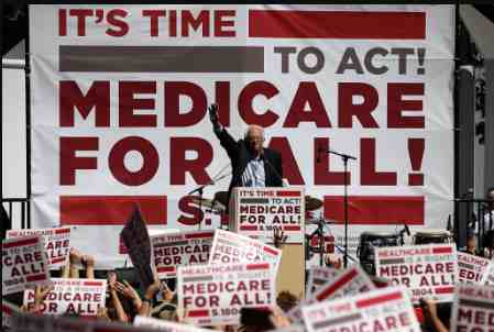 Insurance Industry Is Clearly 'Terrified,' Says Sanders, As Lawmakers Admit Lobbyists Helped Them Write Attacks on Medicare for All