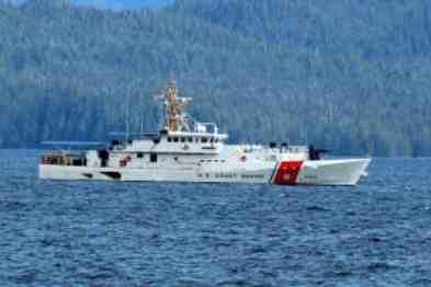 Coast Guard Suspends Search for Overdue Boater near Sitka