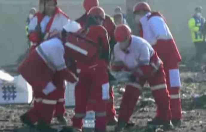 Iran Invites NTSB, Boeing to Participate in Ukrainian Plane Crash Investigation