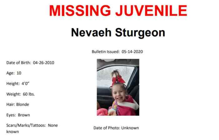 Troopers Issue Alert for Wasilla Child Missing since March