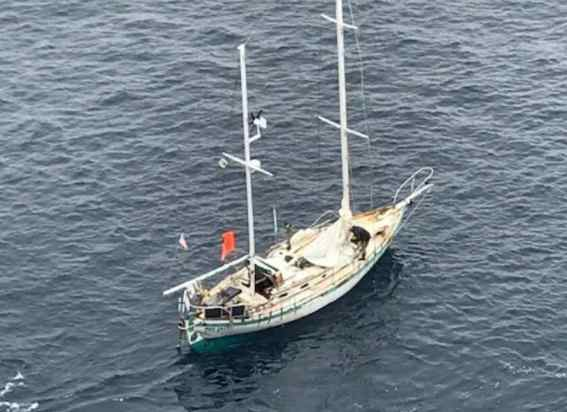 Coast Guard, Good Samaritan Rescue Mariner 500 miles Offshore