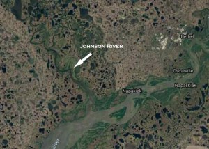 Location off Johnson River downstream from Bethel. Image-Google Maps