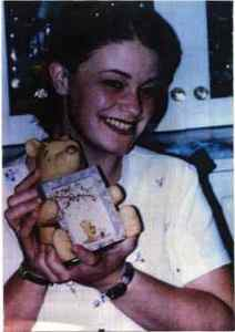 Jessica on her 17th birthday, May 3, 1996, hours before she disappeared.