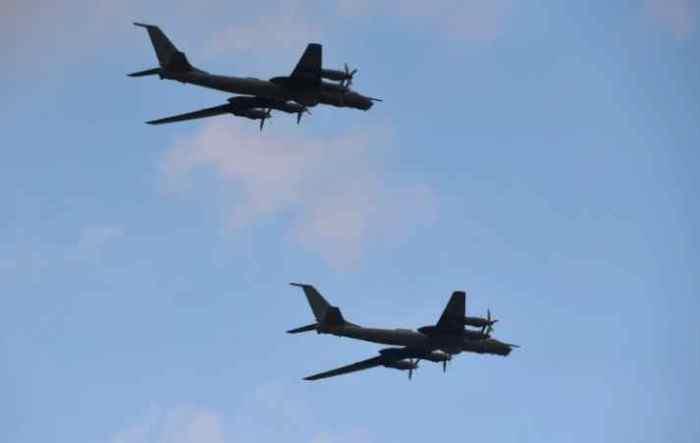 NORAD Intercepts Three Groups of Two Russian TU-142 off of Alaska's Coastline