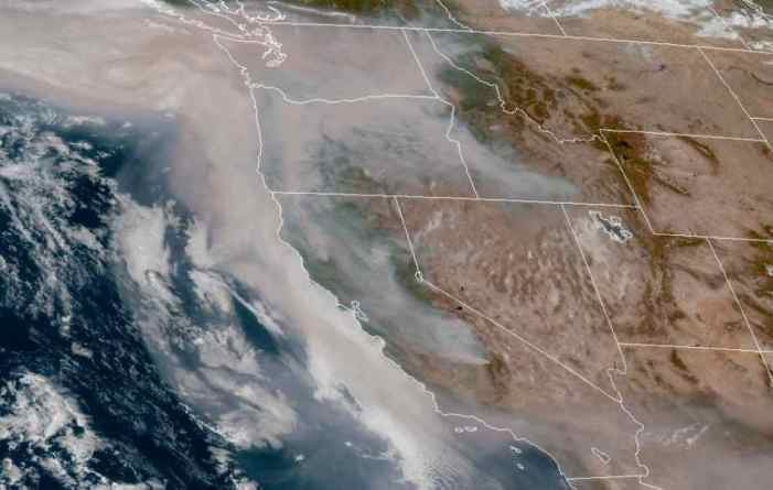 Wildfires Burn Huge Swaths of US West Coast