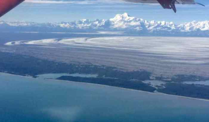 Study to Investigate Melting Malaspina Glacier, Potential New Bay