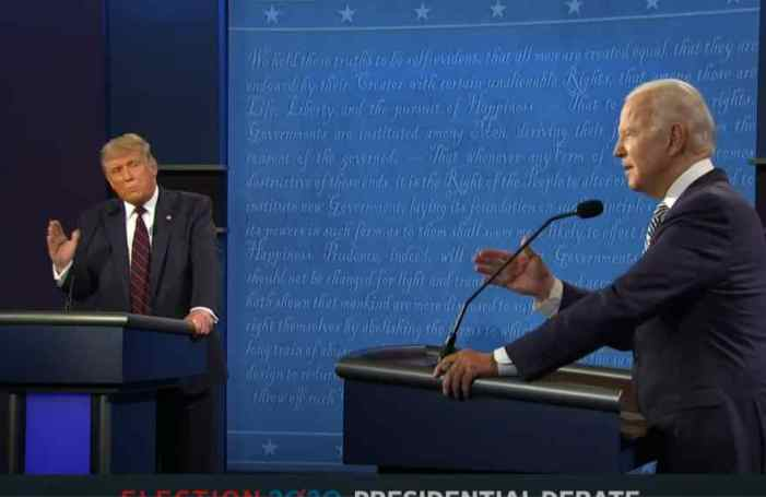 Trump, Biden Clash in Chaotic Debate
