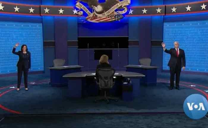 VP Candidates Pence, Harris Spar Amid Coronavirus Concerns