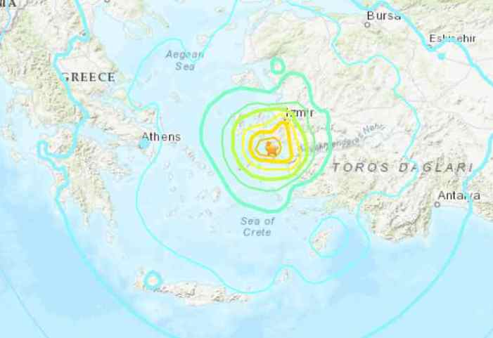 Powerful Quake in Aegean Sea Leaves 6 Dead; Buildings Toppled in Turkey, Greece