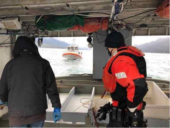 Coast Guard, U.S. Border Patrol Conducted Joint Canadian Maritime Border Patrol