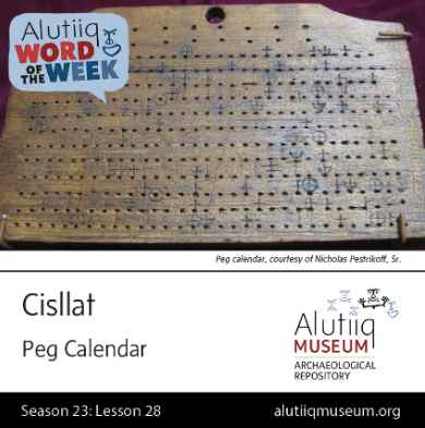 Calendar-Alutiiq Word of the Week-January 3rd