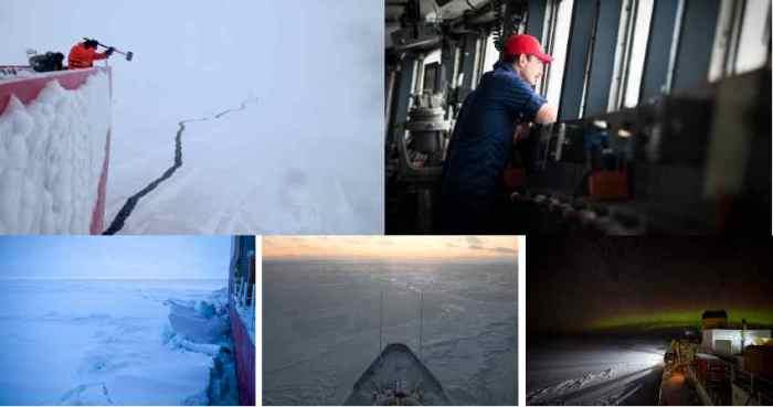 A Break in the Silence: Anecdote from a U.S. Coast Guard icebreaker's winter Arctic patrol