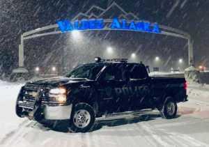 Valdez police vehicle. Image-Valdez Police Department