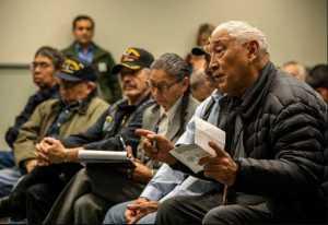 Native Vietnam vets in Alaska. Image-BLM