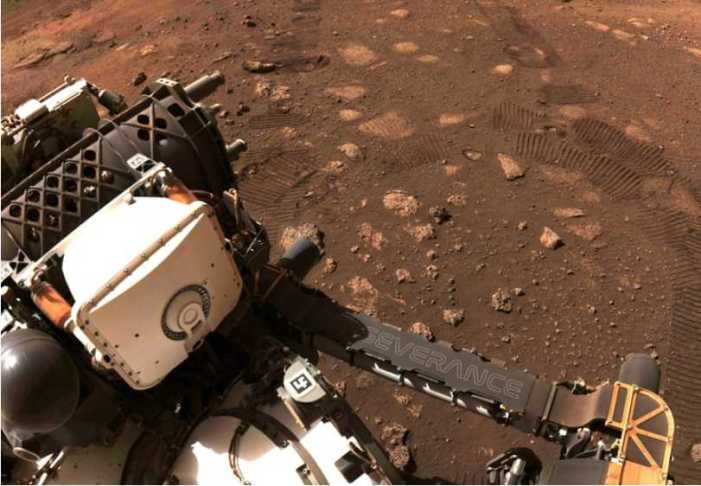 NASA's Mars Rover Makes Its Own Oxygen